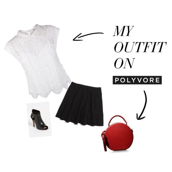 """""""Pop of Red"""" by lwendell on Polyvore"""