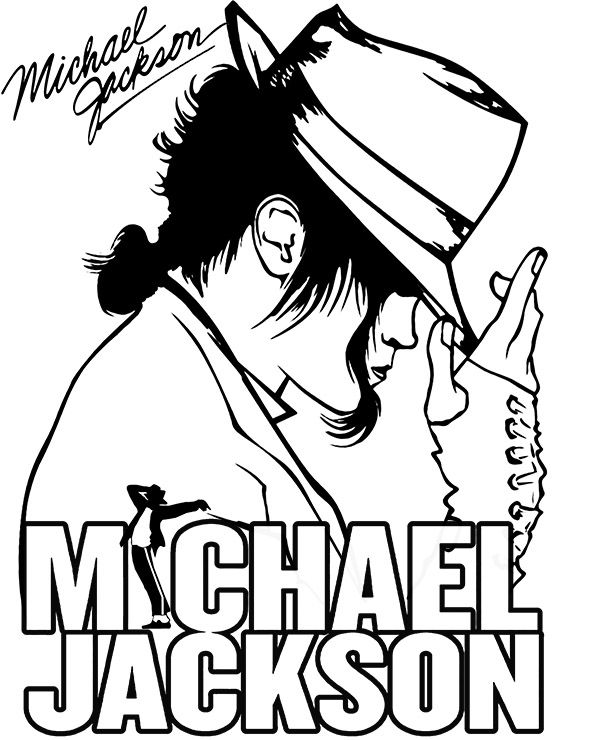 Michael Jackson Coloring Page In 2020 Michael Jackson Drawings Michael Jackson Art Jackson