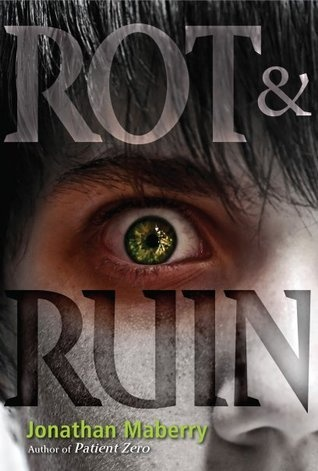 Rot and Ruin, by Jonathan Maberry. Excellent YA post-apocalyptic zombie novel, with a main character who is half Japanese.