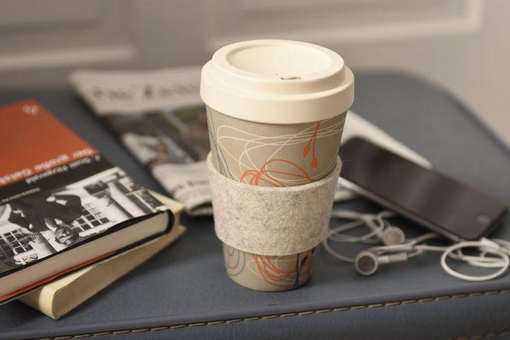 Unsere neuen Coffee-to-Go Becher sind ab sofort in 4 tollen Desings erhältich! #coffeetogo #bambusbecher