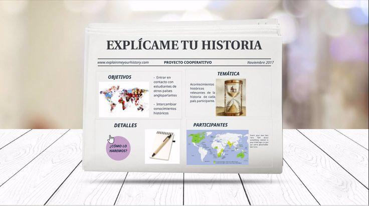 B4. Proyecto cooperativo de narrativa digital. Diseñé un proyecto basado en el intercambio de vídeos explicativos de acontecimientos históricos relevantes de dos centros. Los alumnos españoles elaborarán los vídeos en inglés y los alumnos angloparlantes lo harán en castellano. Una vez al mes se establecerán contactos en vivo a través de Skype.