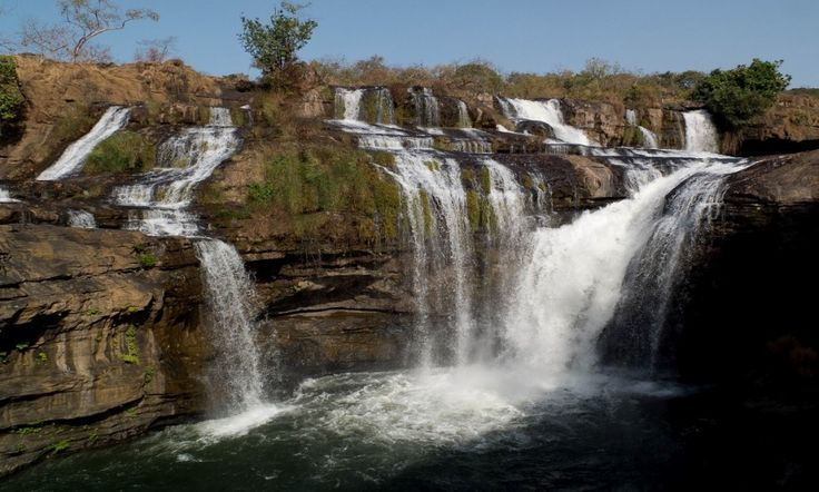 The Fouta Djallon Waterfalls. Visit Guinea AGOA Eligible Country http://www.agoafestival.com/guinea/ #AGOA #agoafestival #africa #trade #usafrica #tourism #guinea #guinee #conakry
