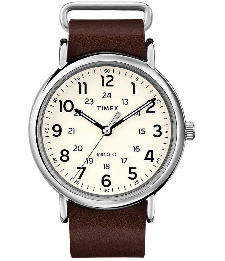 Timex Weekender 40 slip thru watch