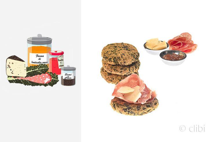 FOCACCINE DI LENTICCHIE ROSSE E CAVOLO NERO Focaccine on lievitate preparate con farina di lenticchie rosse e cavolo nero. http://clibi.net/2015/12/09/focaccine-di-lenticchie-rosse-e-cavolo-nero-senza-glutine/