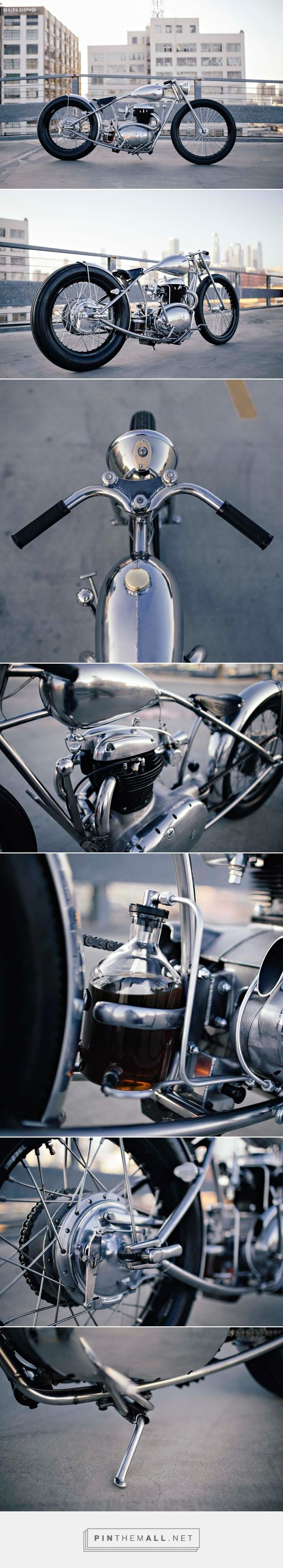 Custom BSA 500 by Maxwell Hazan