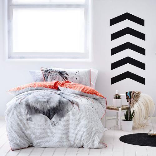 Adairs Kids Boys Roar - Bedroom Quilt Covers & Coverlets - Adairs Kids online
