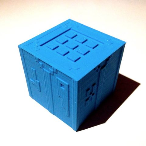 3D printed Minecraft Workbench / Crafting table, Mathi_