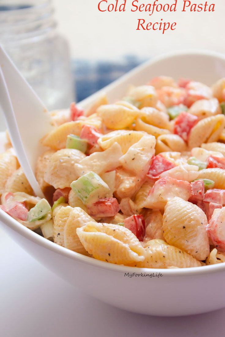 Easy seafood pasta salad recipes