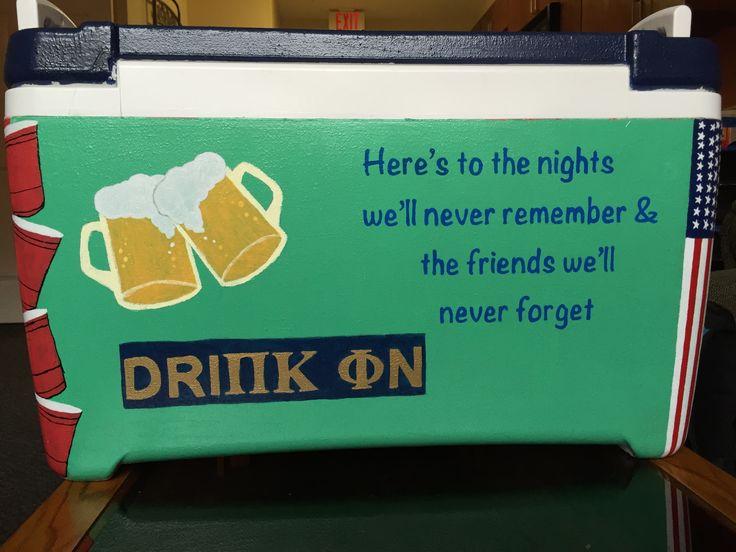 Drink On Pi Kappa Phi   #cooler #clemson