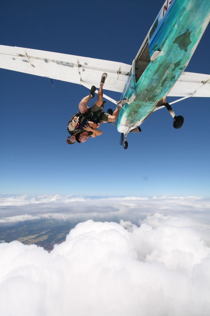 how to get into skydiving