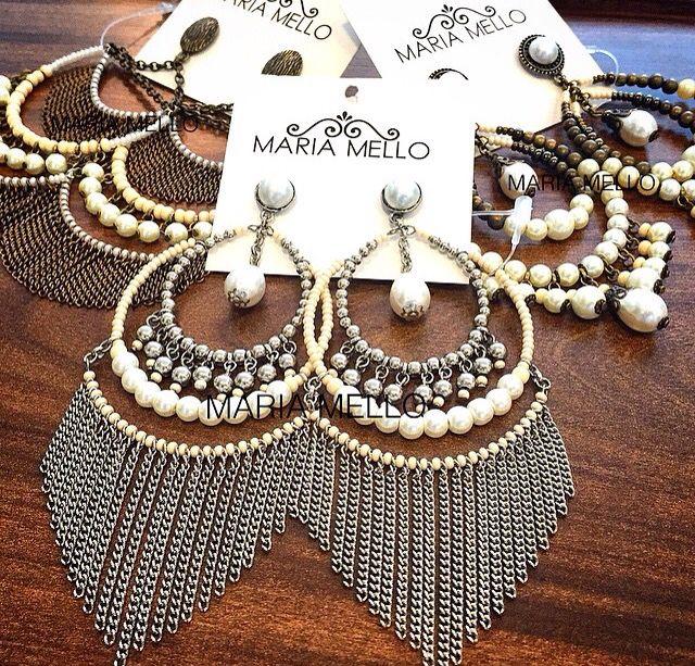 #inspiracao #brincos #mariamello #bijoux