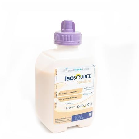 Nestle Смесь жидкая Изосурс Стандарт со вкусом ванили, от 3-х лет  — 229р.  Изосурс Стандарт - Специализированный продукт для энтерального питания, жидкая полноценная сбалансированная смесь cо вкусом ванили для детей старше 3-х лет и взрослых.  Применение: для профилактики и коррекции гипотрофии в пред- и послеоперационном периодах (в т.ч. у пациентов со злокачественными новообразованиями); как дополнительное питание при анемиях, во время беременности и в послеродовом периоде, при повышенной…