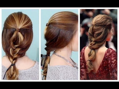 Quick & Beautiful French Braided Updo