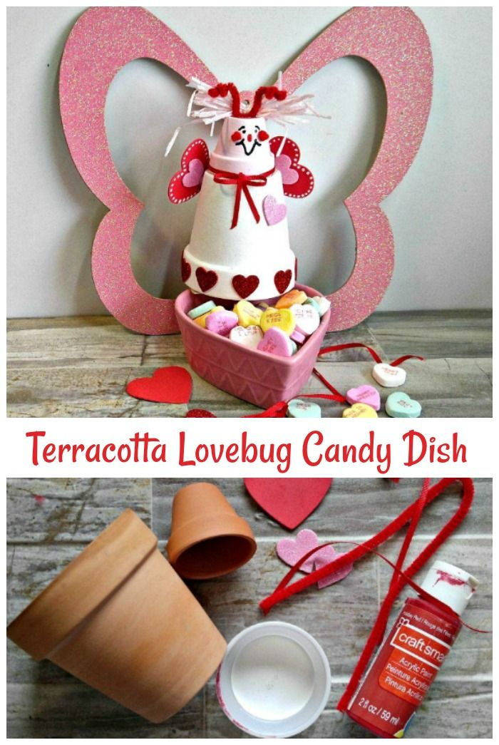 My Candy Love Christmas 2020 Walkthrough Clay Pot Love Bug   Valentine Terracotta Bug Craft (Tutorial
