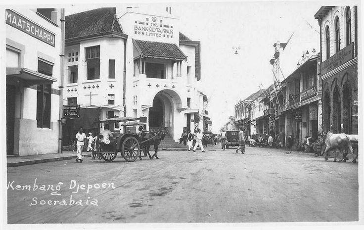Bank of Taiwan - Kembang Djepoen - Surabaya 1920