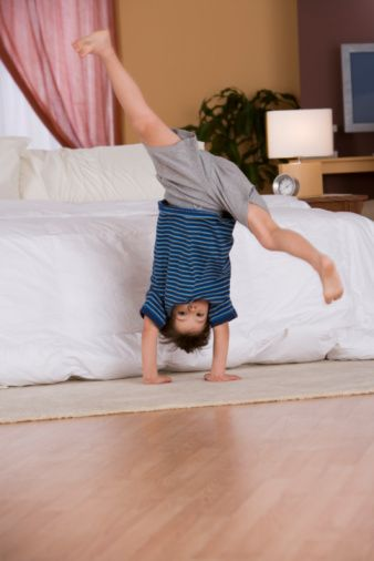 Incorporating Balance into your child's before school routine