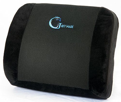 High Quality Orthopedic Design Sciatica Pain Relief Lumbar Pillow - Lower Back Support Memory Foam Seat Cushion - Adjustable Strap and Breathable Mesh for Home, Office Chair, Car, Airplane. -  http://www.wahmmo.com/high-quality-orthopedic-design-sciatica-pain-relief-lumbar-pillow-lower-back-support-memory-foam-seat-cushion-adjustable-strap-and-breathable-mesh-for-home-office-chair-car-airplane/ -  - WAHMMO #ergonomicofficechairbackpain