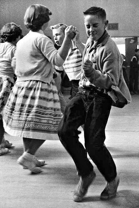 Dancin' old-school!