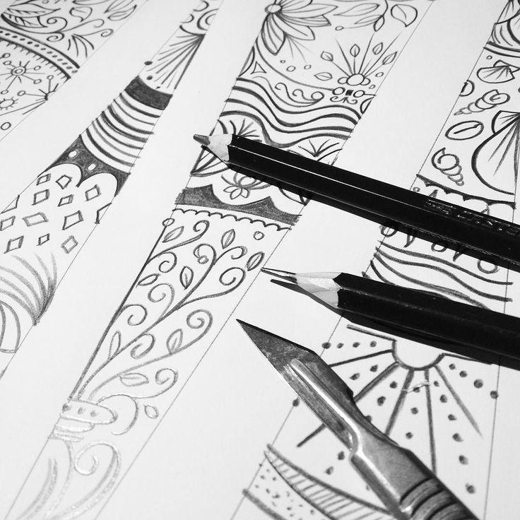 Making hand drawn mandala designs #mandala #wip #art #pencil #vector #illustration #robart #patterns instagram | art | ideas | follow