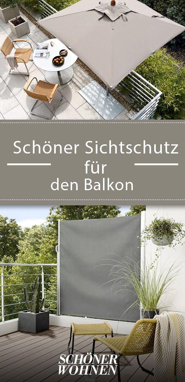 Sichtschutz Fur Terrasse Co Sichtschutz Balkon Und Balkon Gestalten