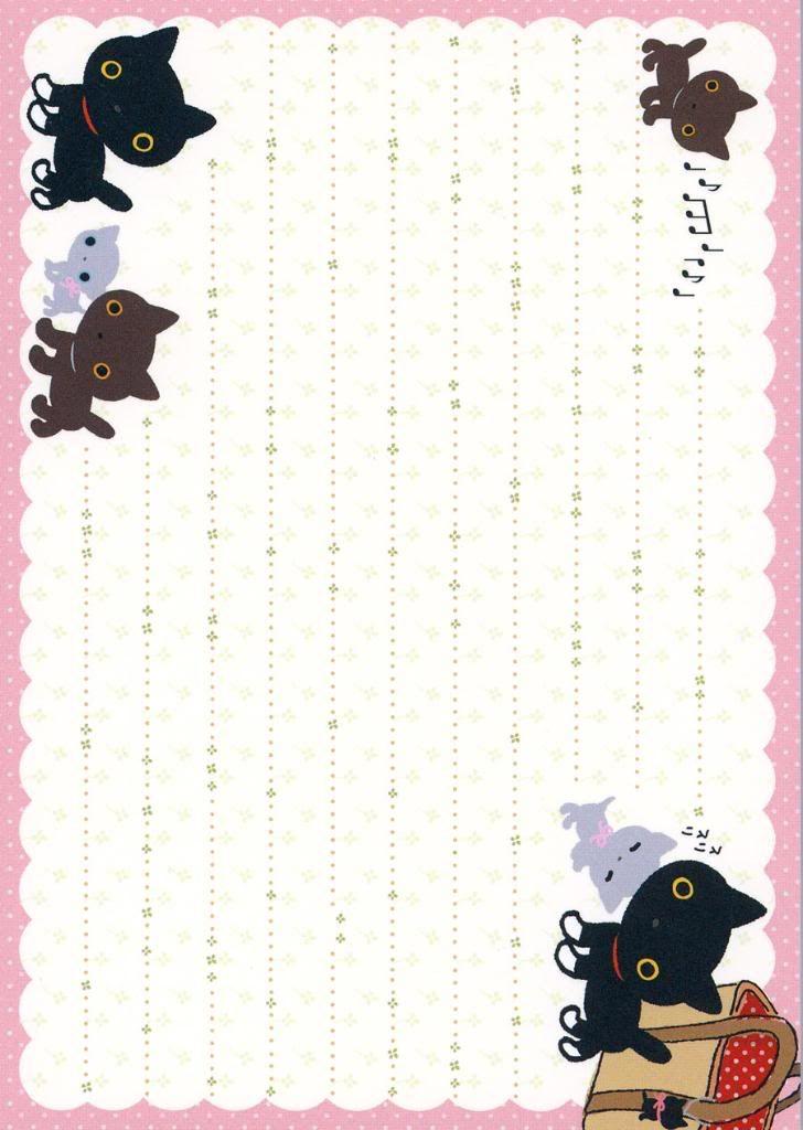 Stationary/Notepaper