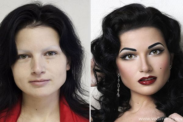 20 Stunningly Unbelievable Before-After Make-Up Photos | EyesPopping.com