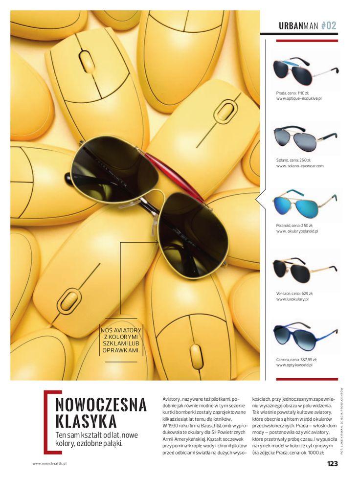 Men's Health Magazine #menshealth #man #magazine #press #sunglasses #aviators