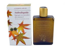 Ambraliquida (Liquid Amber) Bath Gel by L'Erbolario Lodi #herbal #bath