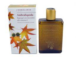 Ambraliquida (Liquid Amber) Bath Gel by L'Erbolario Lodi #herbal #bath