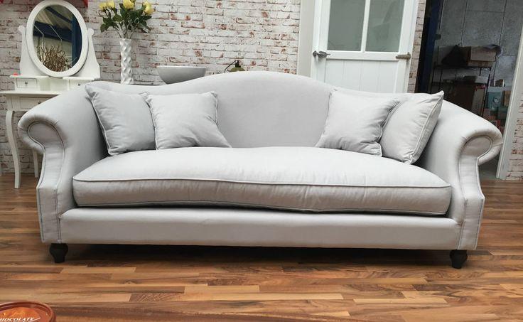 Sofa, 3-Sitzer Grau Polstersofa hellgrau  impressionen