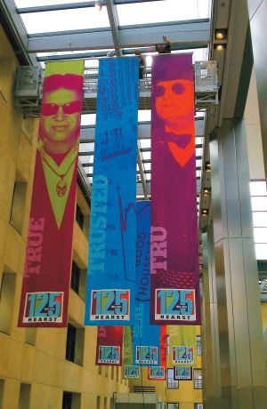 hanging vinyl banner - Google Search