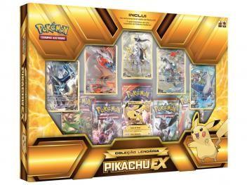 Jogo de Cartas Pokémon Box - Coleção Lendária - Copag