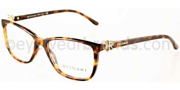 Bvlgari BV 4073B Bvlgari BV4073B 5243 Havana Designer Glasses From Eyewearbrands