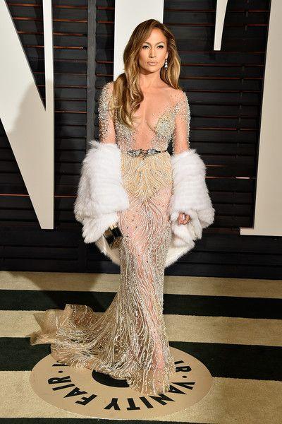 OSCARS Jennifer Lopez in Zuhair Murad Couture