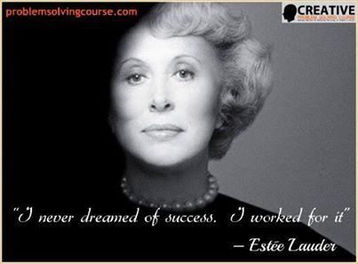 I never dreamed of #success. I worked for it. #quotes