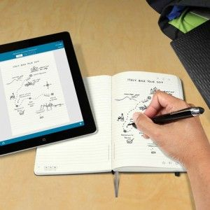 Moleskine Livescribe Notebooks transfer  ideas from paper to screen