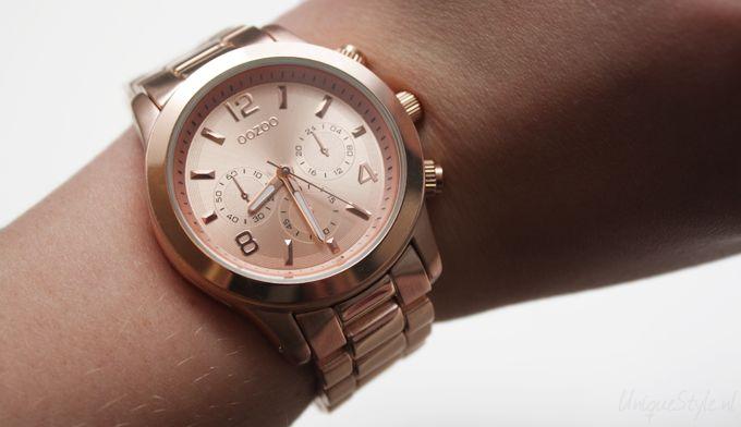 Standaard 1jaar garantie op alle OOZOO horloge's