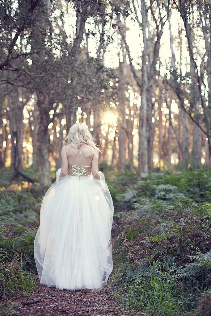take a picture in the forest, it gives a feeling of a fairytale