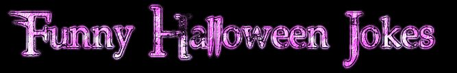 Lite purple Funny Halloween Jokes Banner