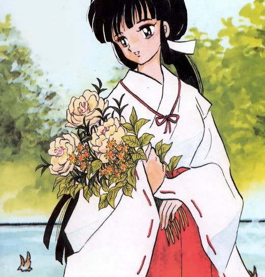 133 best images about Kikyo from Inuyasha on Pinterest ...