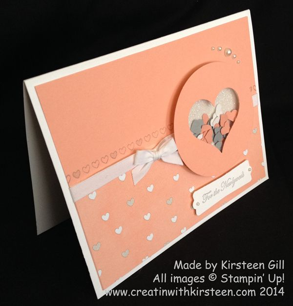2014 Borderettes Wedding Card - Welcome to Creatin With Kirsteen