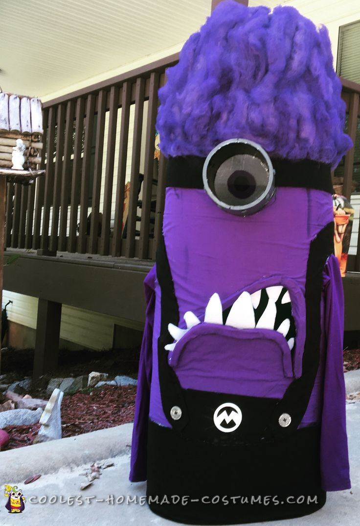 Cool+Handmade+Evil+Purple+Minion+Costume
