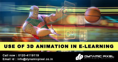 USE OF 3D ANIMATION IN E-LEARNING ----> https://goo.gl/UGha3F