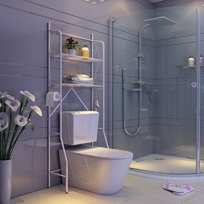 Songmics Toilettenregal Wc Regal Badezimmer Regal