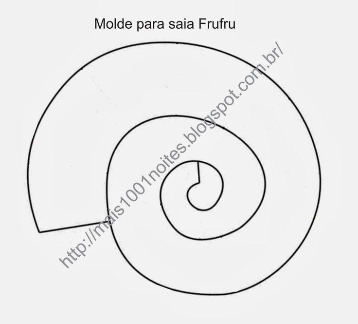 Nesta postagem vou ensinar uma maneira de fazer a Saia Frufru para dança do ventre.  Os tecidos que podem ser usados: musseline (algumas mus...