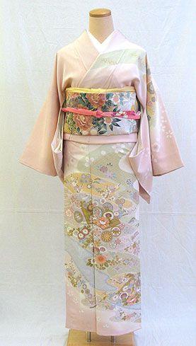 houmongi - pale pink