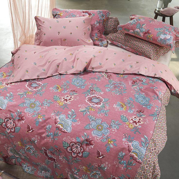 Pip Studio Berry Bird Bettwäsche-Set - Rosa Kaufen | Amara