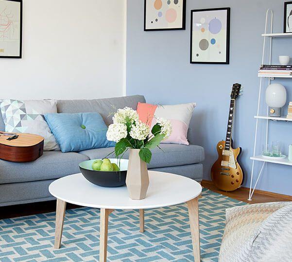 68 best Wohnzimmer images on Pinterest Live, Living room ideas - design beistelltische metall tote ecken raum