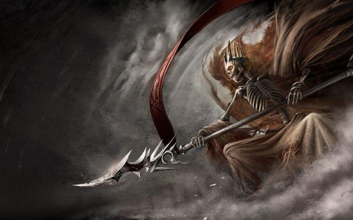 Descargar fondos de pantalla demonio, 4k, de acción-RPG, The Dark Eye Demonicon
