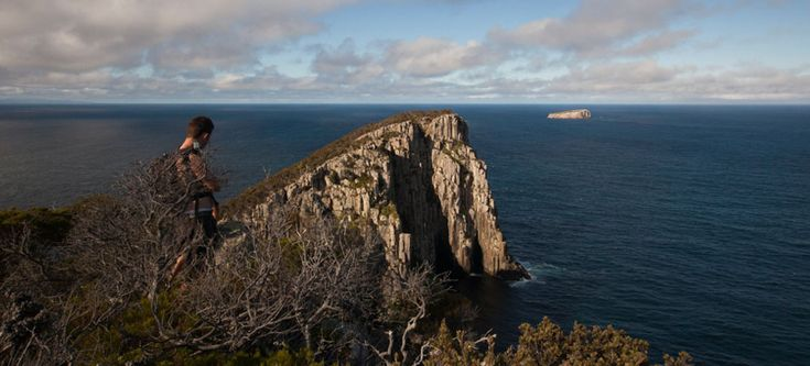 Tasmanian Bushwalking Guide. Cape Hauy, Tasman Peninsula | Walk Grade: Medium | Time: 4 Hours | Distance: 8km | Parks Pass Needed